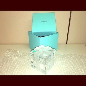 Tiffany Glass Trinket Box